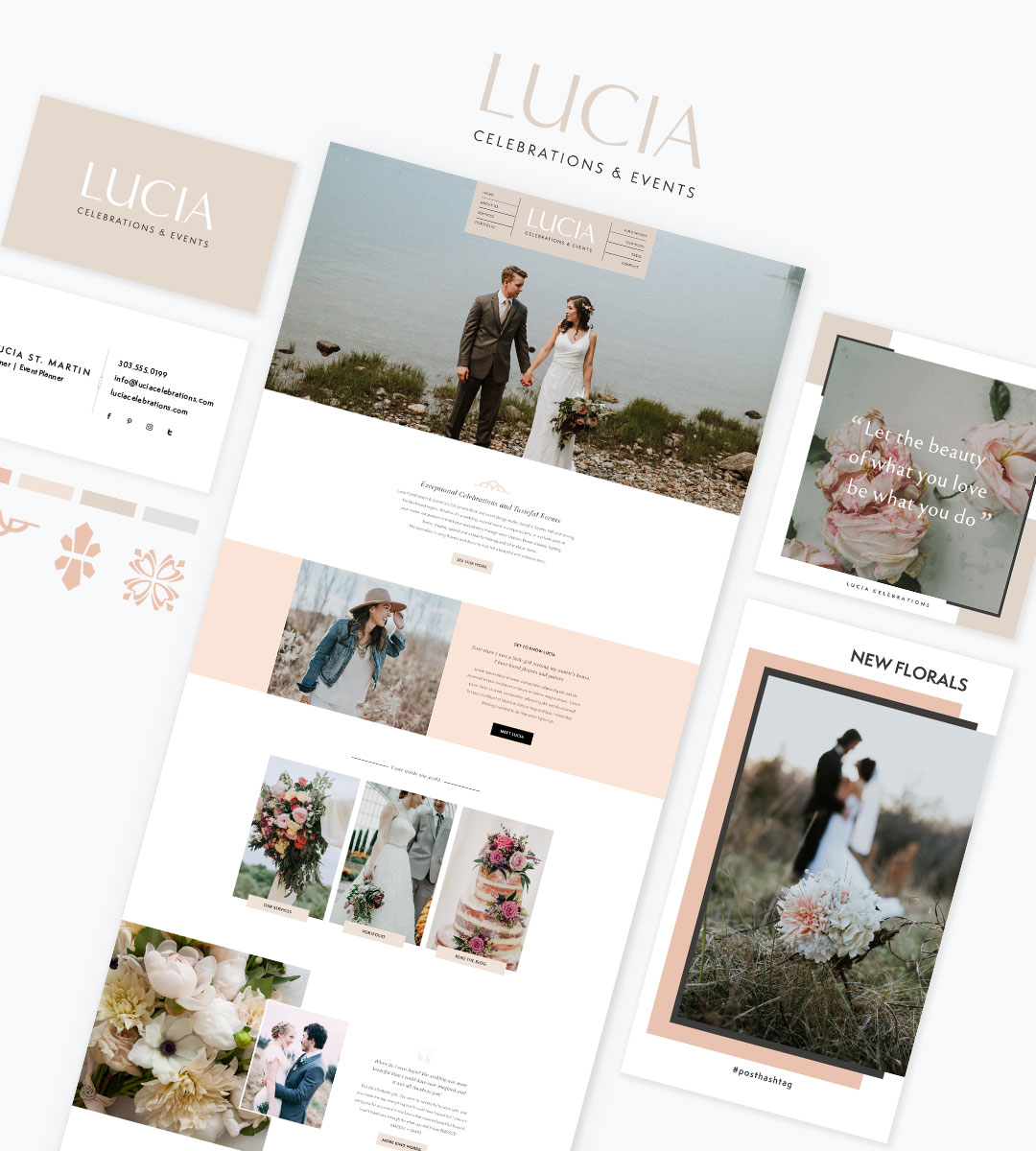 Branding for Wedding Professionals_Lucia Collection