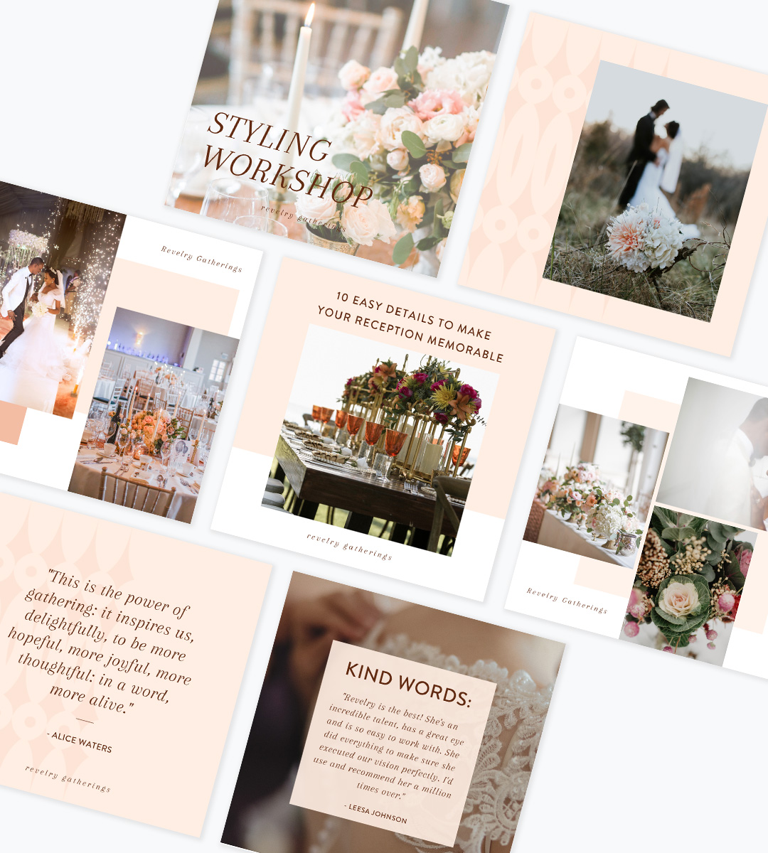 wedding planner social media- Revelery4 - Your Digital Stylist