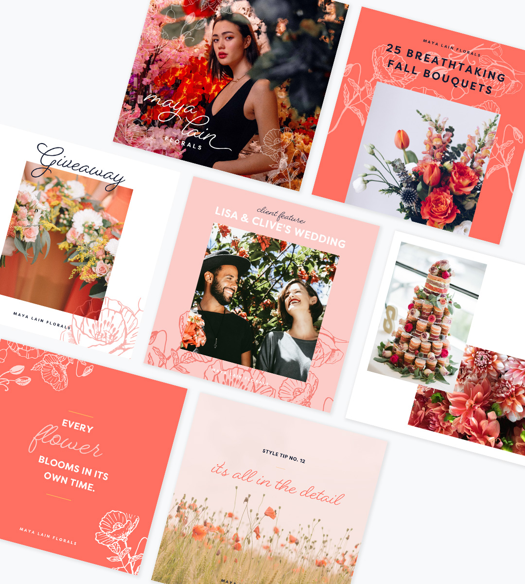 Branding for Wedding Professionals - Maya Collection4